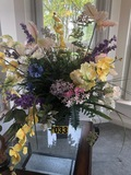 Large artificial floral arrangement  - NO SHIPPING NO SHIPPING