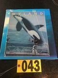 Wyland Whaling Walls Celebrating 50, artist signed book  - NO SHIPPING NO S