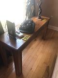 Wood sofa table  - NO SHIPPING NO SHIPPING
