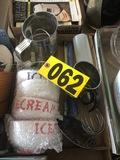 Copper pitcher, metal pitchers, muigs  - NO SHIPPING NO SHIPPING