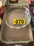 Casserole dishes  - NO SHIPPING NO SHIPPING