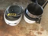 Roaster pans & pots  - NO SHIPPING NO SHIPPING