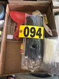 Zip ties, spackling tools, paint brushes  - NO SHIPPING NO SHIPPING