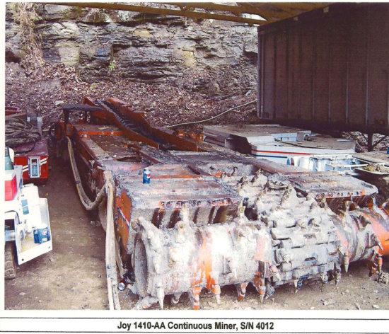 1990 Joy 1410-AA Continuous Miner SN:JM4012 | Auctions