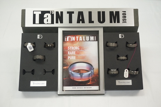 Tantalum Force Rings w/Display