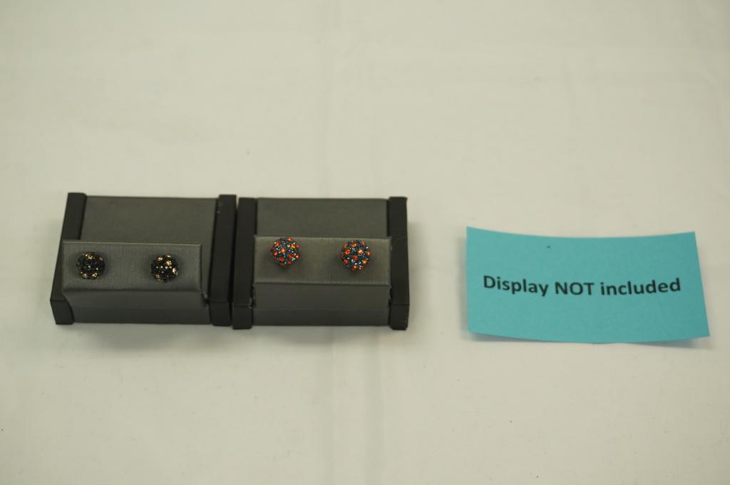 Ball Earrings (2 sets)