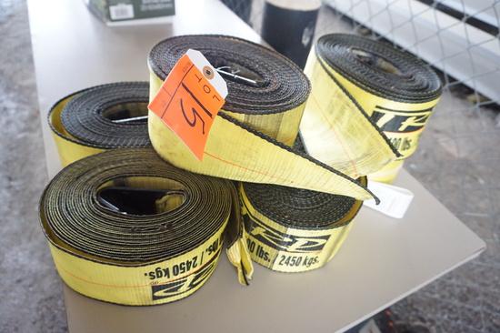 5400lb Tie Straps (Set of 5)