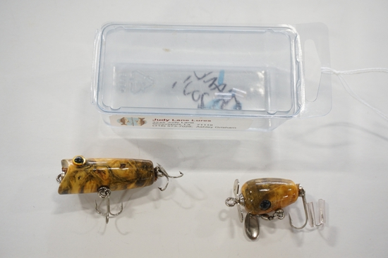 Judy Lane Wooden Lures