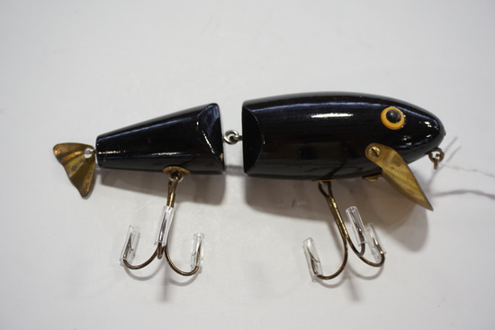 Black 2 Hook Lure