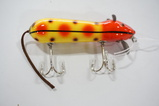 Red/Black Striped Lure
