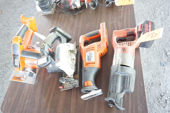 Assorted Cordless Saws