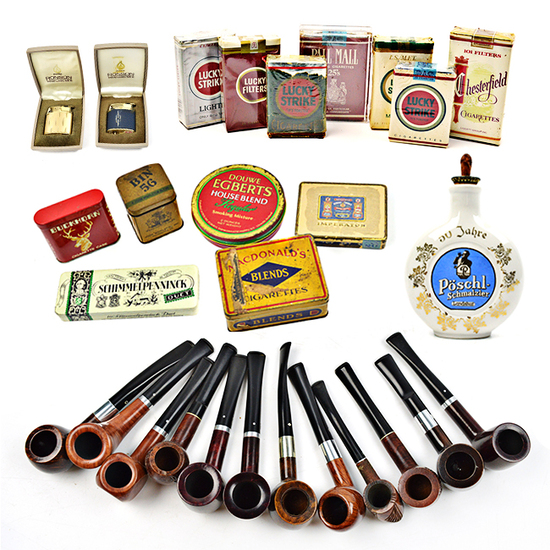 TOBACCO COLLECTIBLES AUCTION