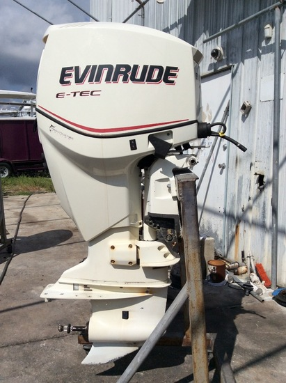 "2007 EVINRUDE ETEC DIRECT INJECTION 150HP OUTBOARD MOTOR 5150DPX 25"" SHAFT"