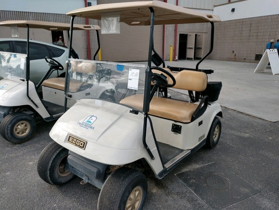 2012 EZ-GO 48 VOLT ELECTRIC GOLF CART