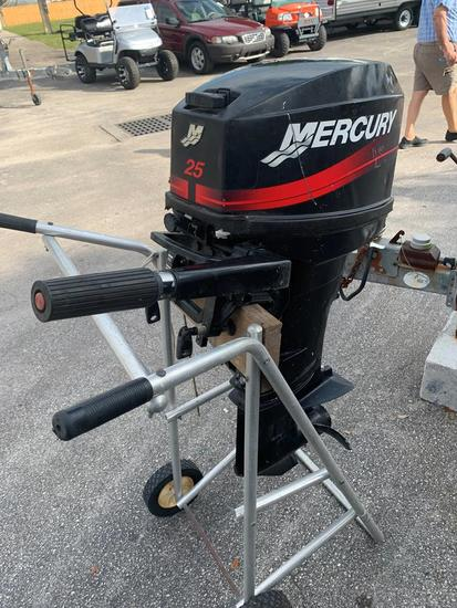 25HP MERCURY OUTBOARD MOTOR
