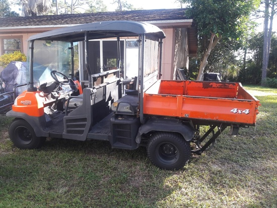 2013 KUBOTA DIESEL RTV 1140 4 X 4 UTILITY VEHICLE