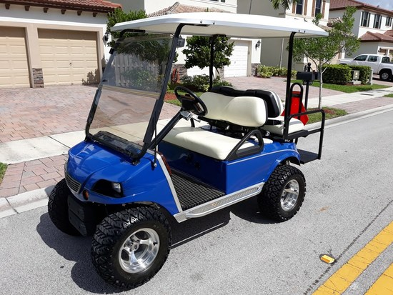 HIGH SPEED 48 VOLT ELECTRIC CLUB CAR GOLF CART