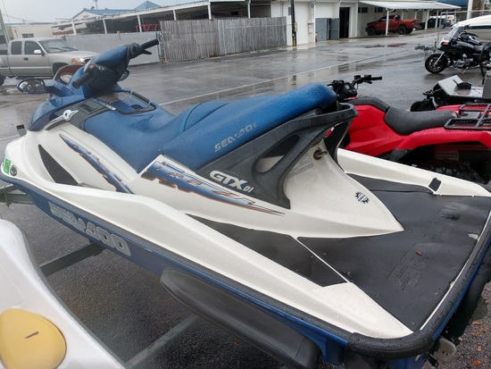 2002 SEA DOO GTX DI WATERCRAFT