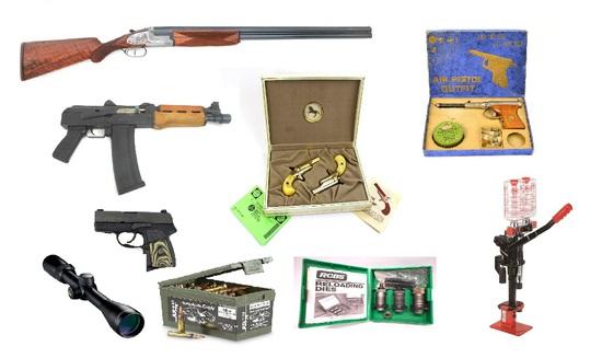 GUN & RELOADING EQUIPMENT AUCTION