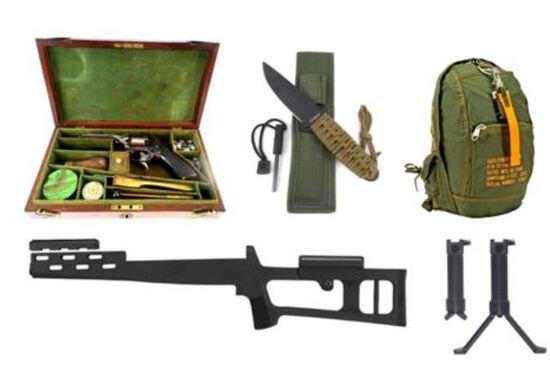 ONLINE GUN ACCESSORY AUCTION (12/02)