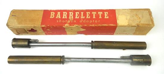 VINTAGE BARRELETTE SHOTGUN ADAPTOR 20 GA. - .22