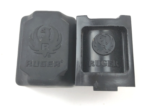 RUGER 10/22 ROTARY MAGAZINE w/COVER 10 ROUND