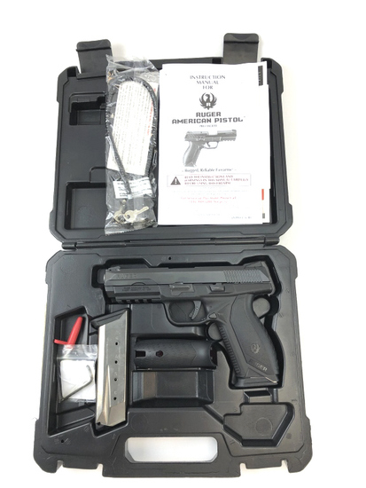 RUGER AMERICAN PRO-DUTY .45ACP PISTOL w/2 MAGS