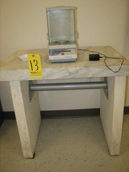 Mettler Toledo AL-104 Scale w/ Granite Table