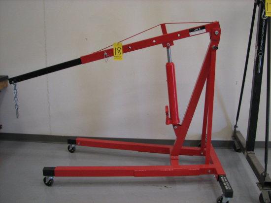 Jet Hydraulic Shop Crane, Mdl: JHC-200X, 4000# Cap