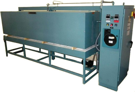 WQ ANNEALING OVEN: Efficient Multilayered Insulation: The Furnace Is Insula