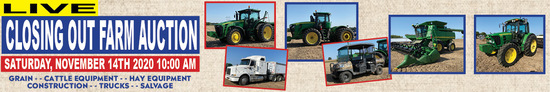 Nov 14th Koss Farms Closing Out Auction