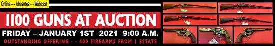 Jan 1 2021 General Auction Gun Sales Ring 1 of 2