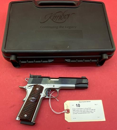 Kimber Grand Raptor Ii .45 Acp Pistol