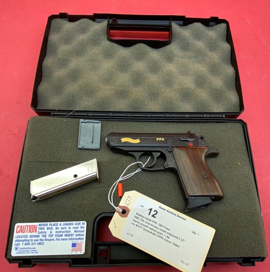 Walther/s&w Ppk .380 Pistol