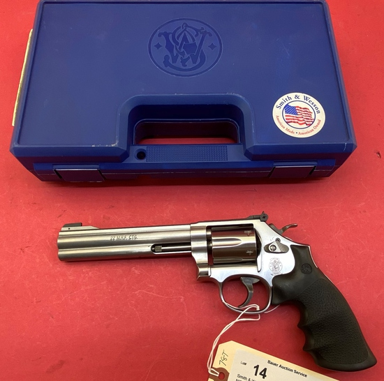 Smith & Wesson 648-2 .22 Mag Revolver