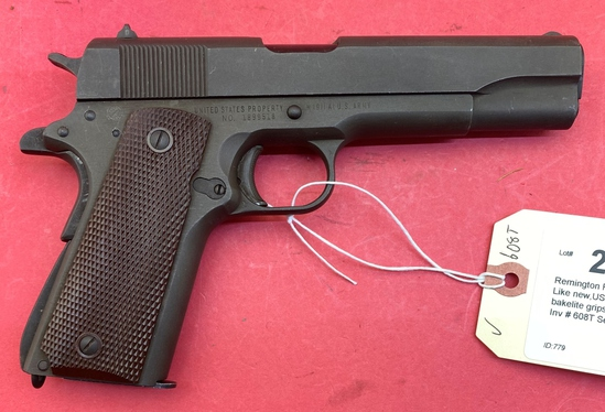 Remington Rand 1911a1 .45 Auto Pistol