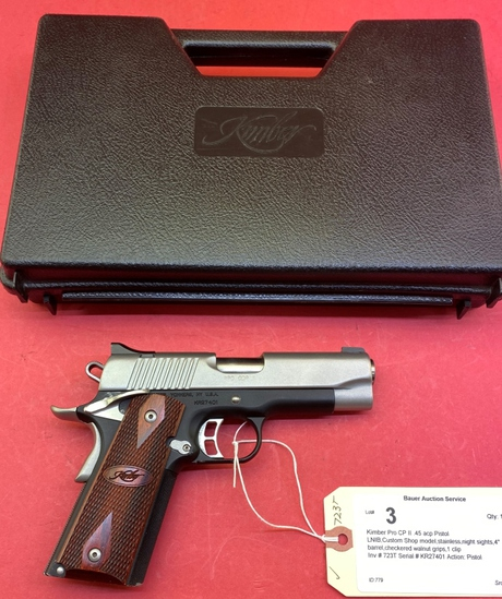Kimber Pro Cp Ii .45 Acp Pistol