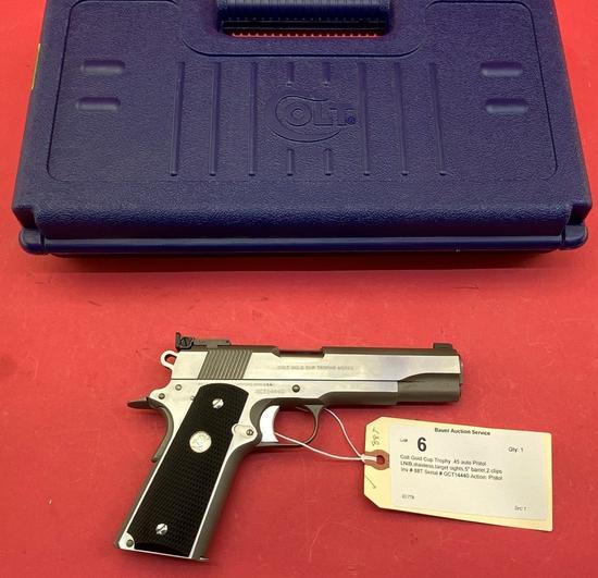 Colt Gold Cup Trophy .45 Auto Pistol