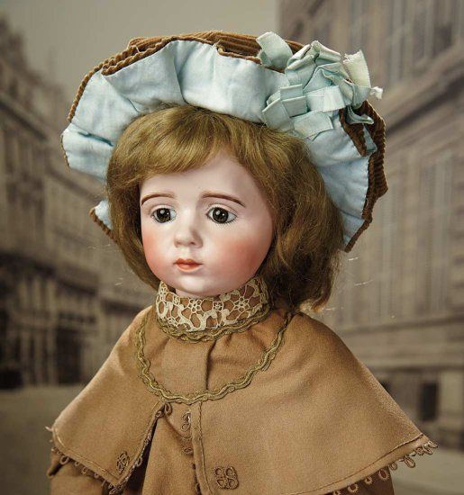 French Bisque Doll by Albert Marque, #5 of Limited Series, Trousseau, Suffragette 120,000/150,000