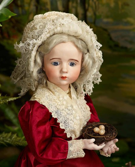 Extremely Rare French Bisque Art Character Doll, Albert Marque, Provenance 140,000/190,000