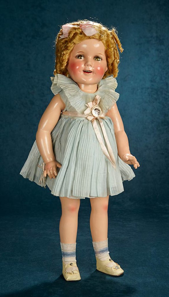 bd65021fc161 Composition Shirley Temple, Ideal, Vibrant Coloring, Original Costume  700/900