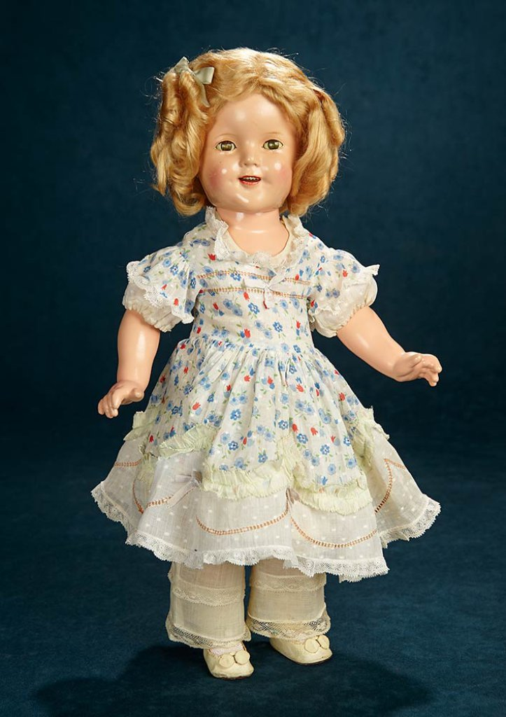 4a0f792c1655 Composition Shirley Temple, Ideal, Rare Costume of