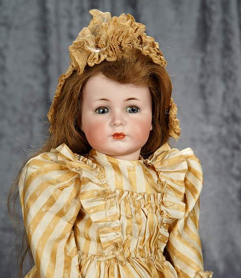 """22"""" German bisque character """"Mein Liebling"""", model 117/A by Kammer and Reinhardt. $2200/2600"""