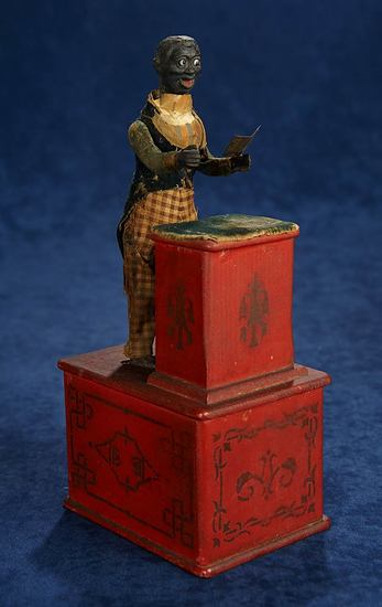 """Rare American Toy """"Our New Clergyman"""" by Automatic Toy Works 2500/3500"""