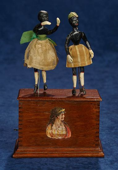 Rare American Mechanical Dancing Toy by Edward Ives of Automatic Toy Works 1200/1600
