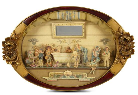 Victorian Shadowbox with Die-Cut Diorama 400/600