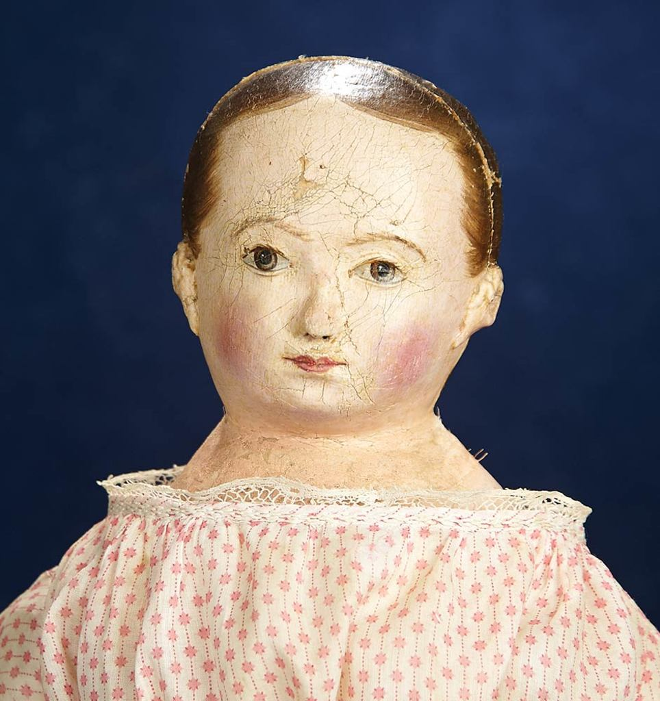 American Patent Model Cloth Doll by Izannah Walker 12,000/15,000