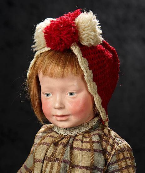 "Outstanding and All Original German ""Munich Art Doll"" by Marion Kaulitz 9000/12,000"