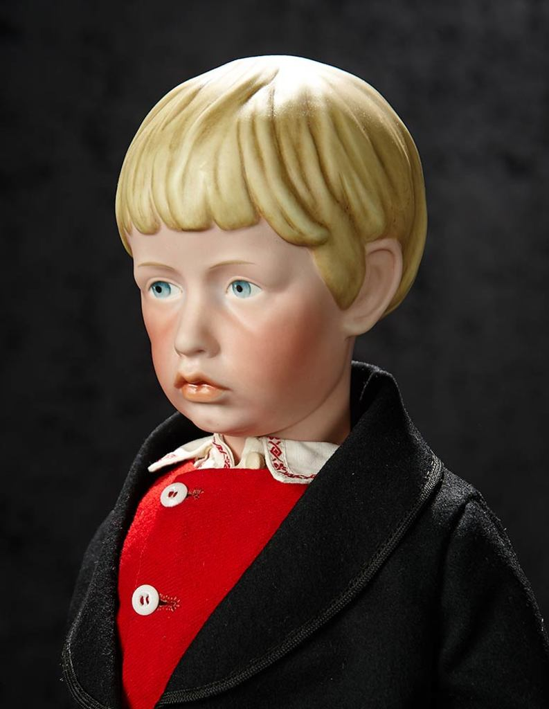 Extremely Rare German Bisque Art Character, Model 102, by Kammer and Reinhardt 40,000/60,000