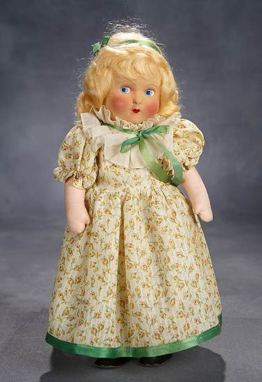 "Cloth ""Amy"" from ""Little Women"" with Beautiful Complexion and Rare Costume 500/800"